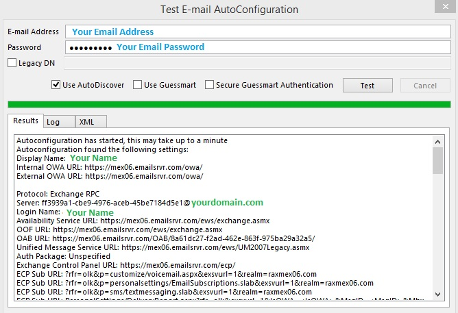 How To Test Autodiscover Functionality In Microsoft Outlook Prr Computers Llc